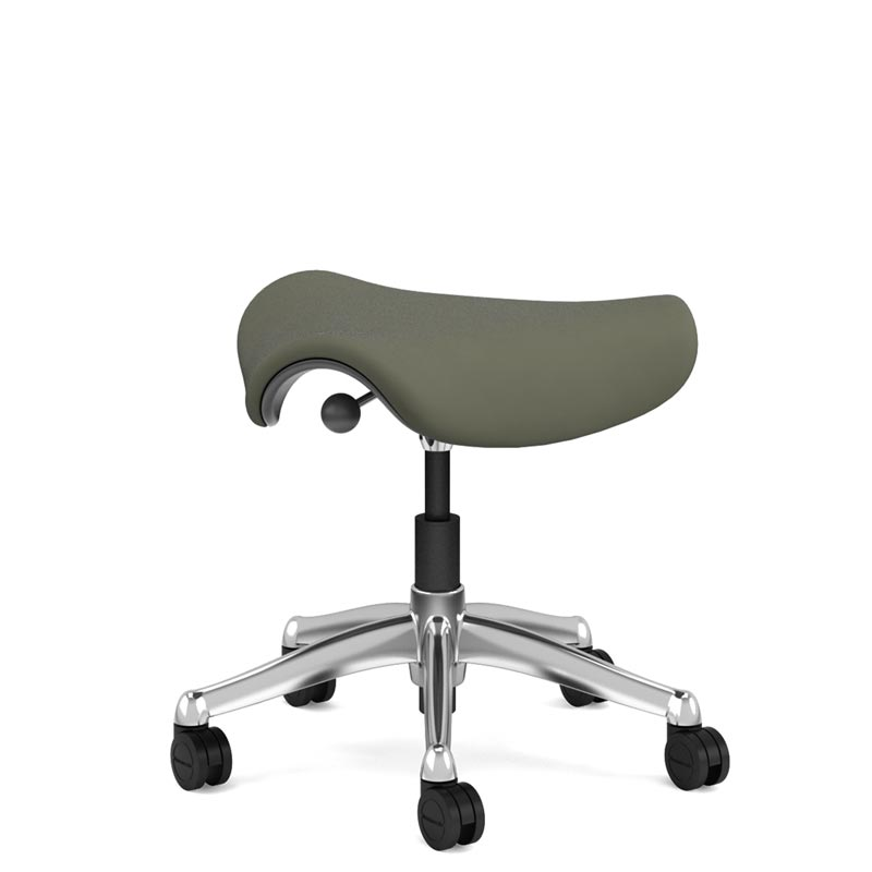 Humanscale Freedom Saddle Stool - Side View