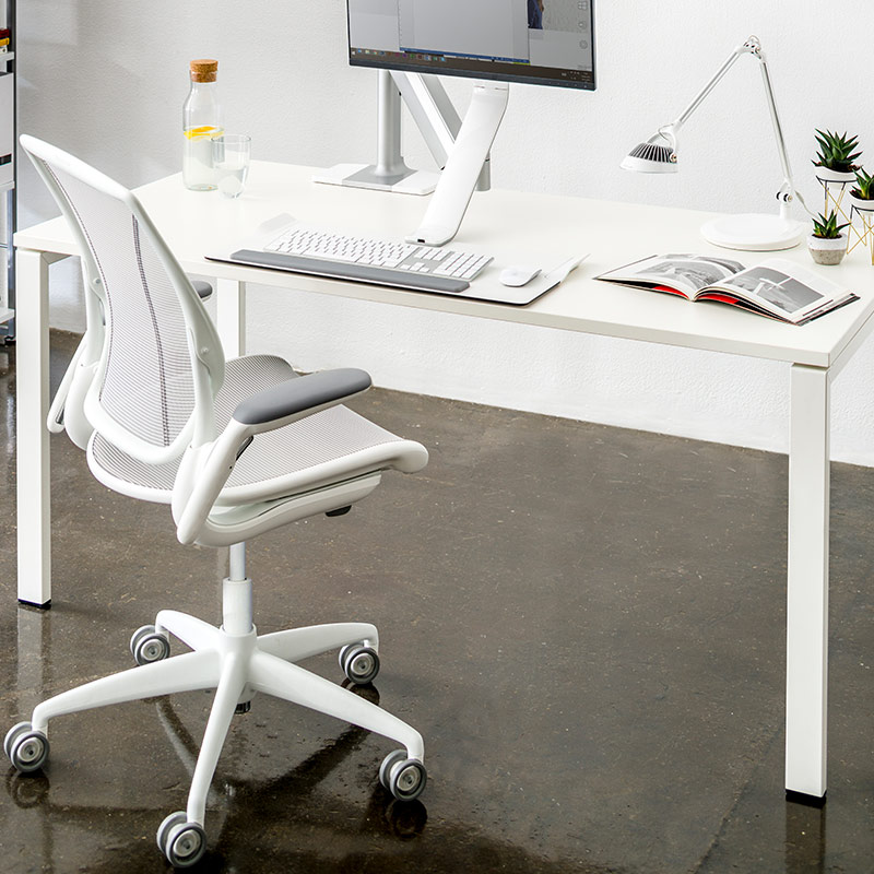Diffrient Mesh Task Chair in Home Office